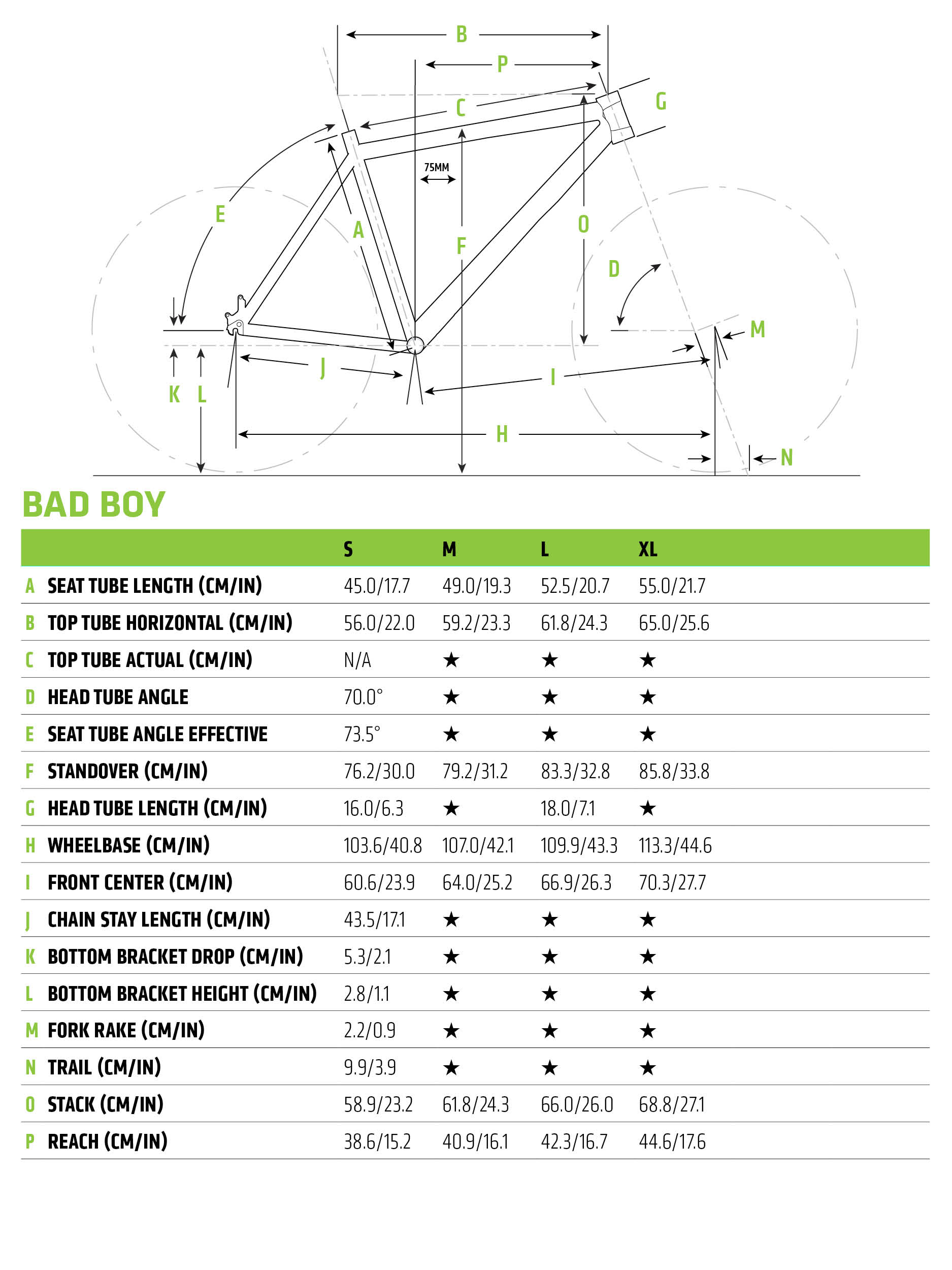 Cannondale Bad Boy 4 2019 Mens Hybrid Bike BBQ