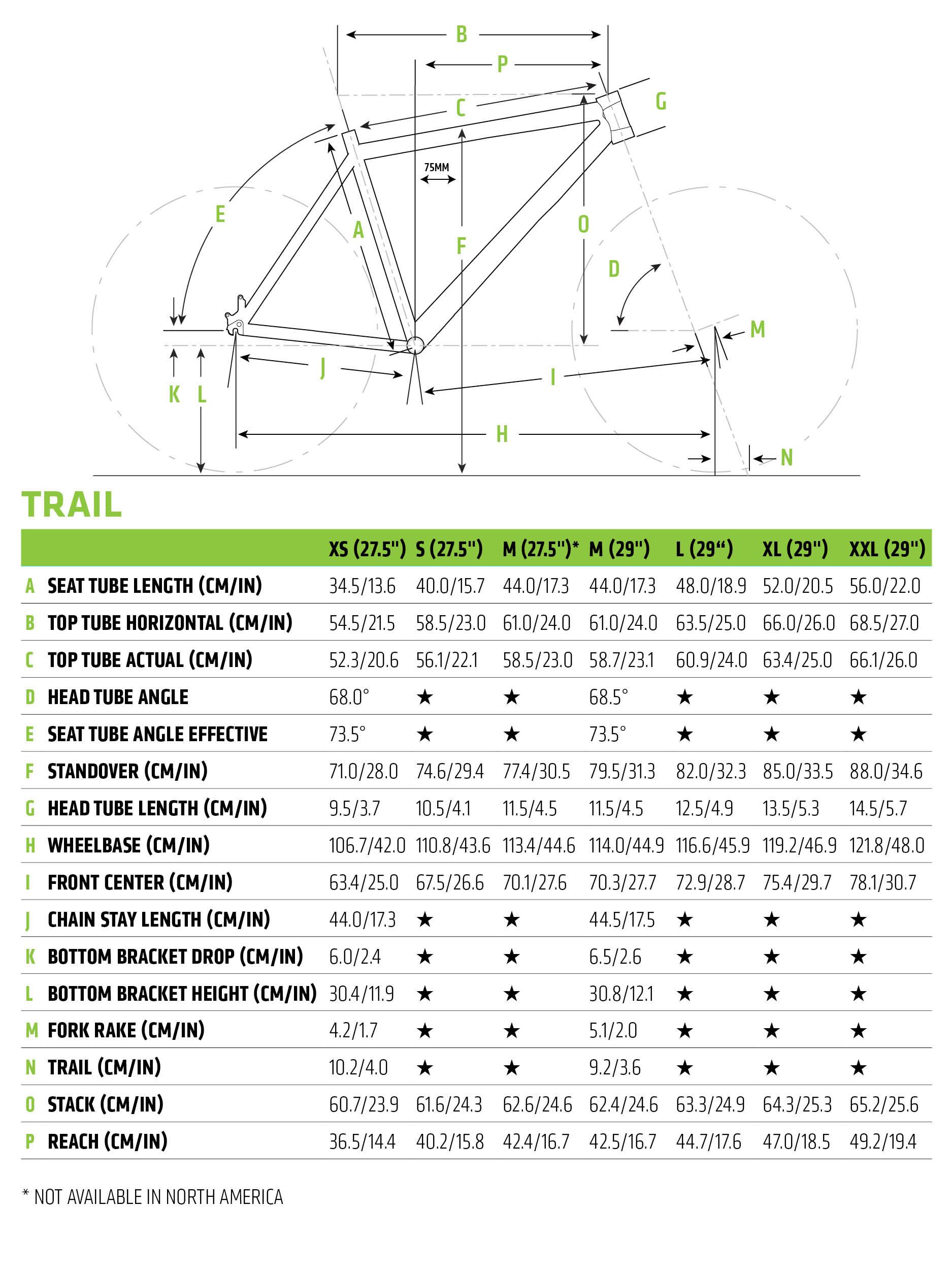 Cannondale Trail 1 2019 Hardtail Mountain Bike Vulcan Green