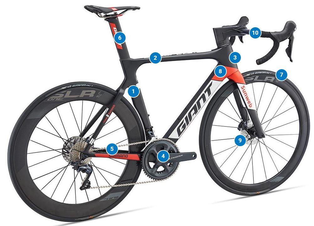 Giant Propel Advanced Pro Disc 2019 Road Bike Black