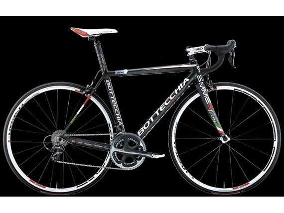 Bottecchia EMME2 Team Black Carbon Mat Road Racing Bikes 2012
