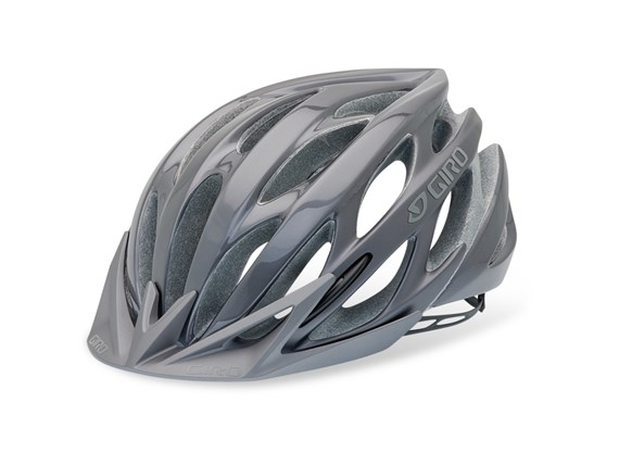 Giro Athlon Matt Titanium MTB Mountain Bike Helmet 2012