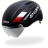 Giro Air Attack Shield Black / Red Road Helmet