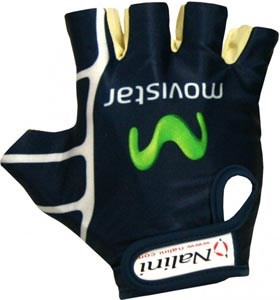 Nalini Movistar Lycra Mitts