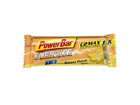 Powerbar Energize Bars (Formerly Performance) Banana Energy Bar Box of 25