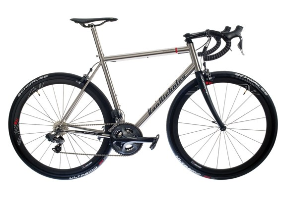 Van Nicholas Aquilo Titanium Road Frame with FREE Fork and Headset 2013