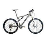 Van Nicholas Valkyr SLX Disc Full Suspension Titanium Mountain Bike 2013