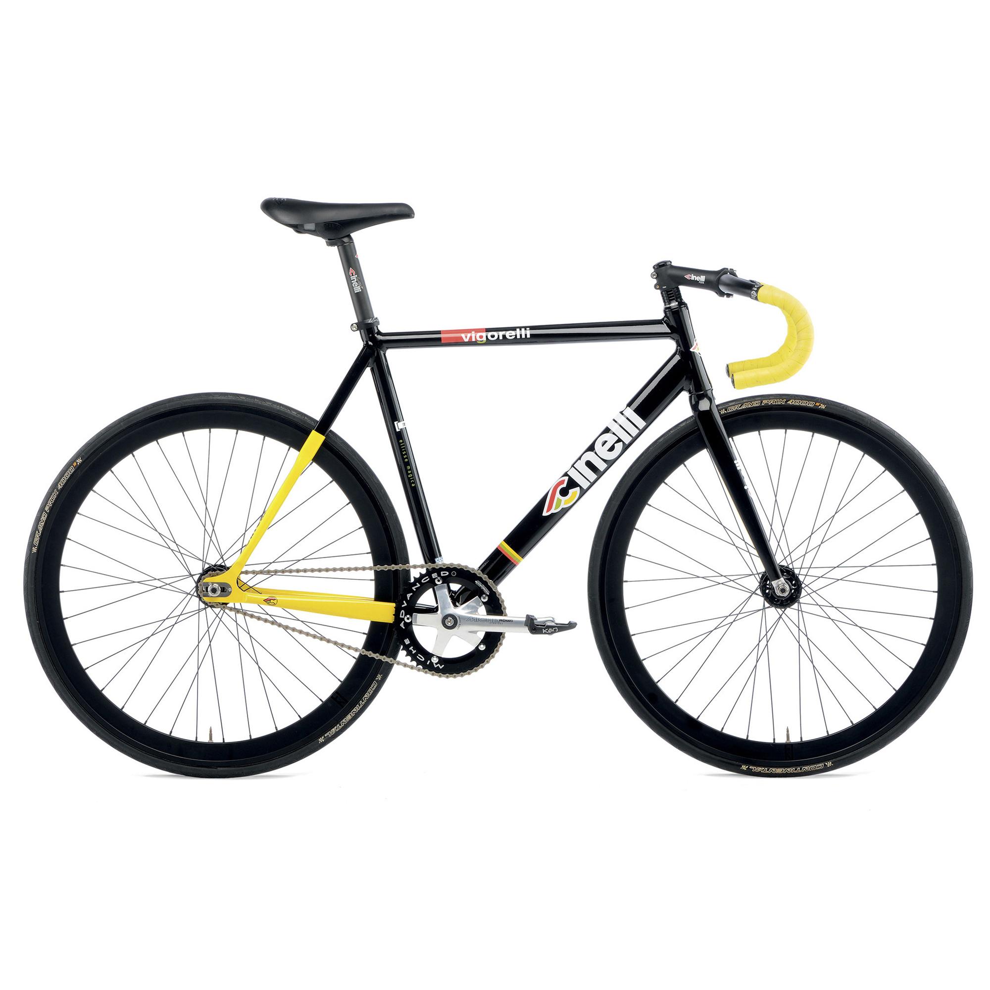 Cinelli Vigorelli Black Single Speed/ Track Bike - Buy Online ...