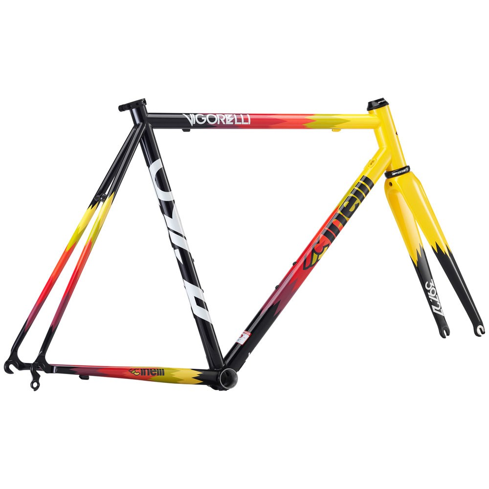 Cinelli Vigorelli Steel 2018 Road Frameset - Buy Online | Pedal ...