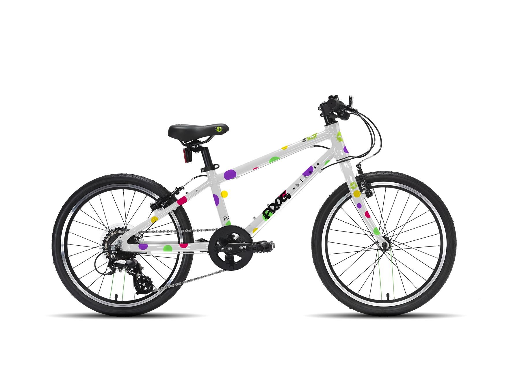 Frog 55 Hybrid Kids Bike for Ages 6-7 - Spotty - Buy Online ...