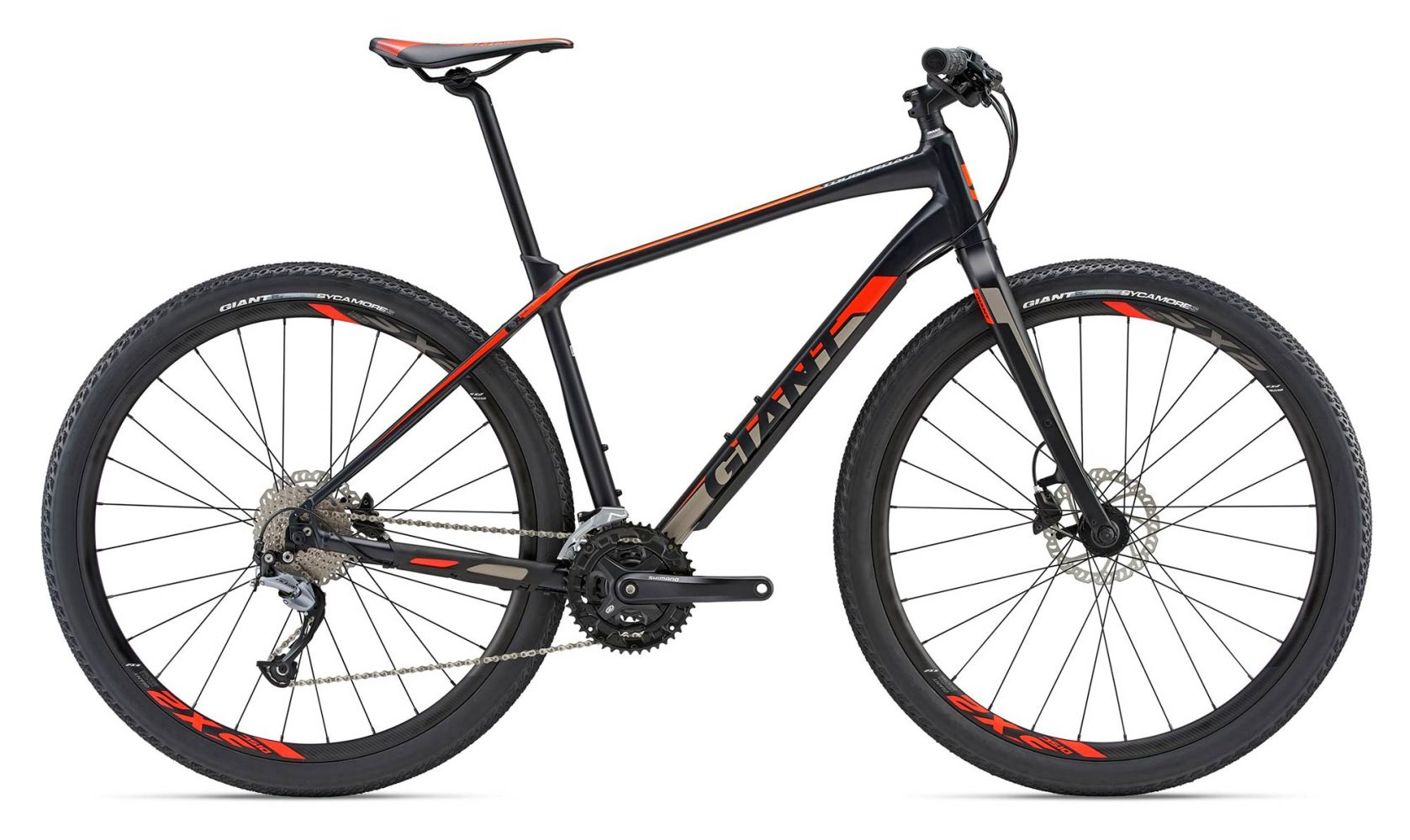 7e2b02da6e9 Giant ToughRoad SLR 2 2018 Black Hardtail Mountain Bike - Buy Online |  Pedal Revolution