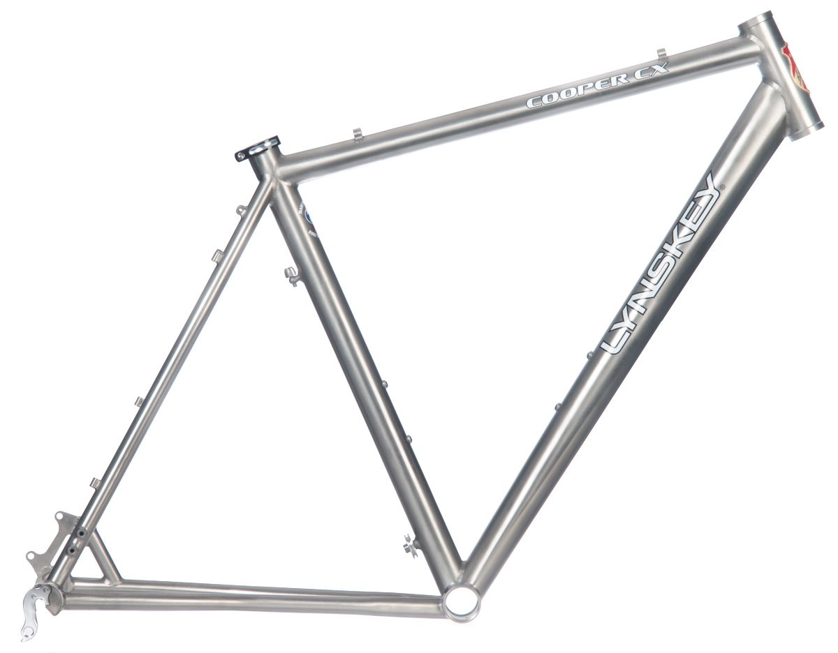 Lynskey COOPER CX Ti Cyclocross Frame Industrial Mill - Buy Online ...