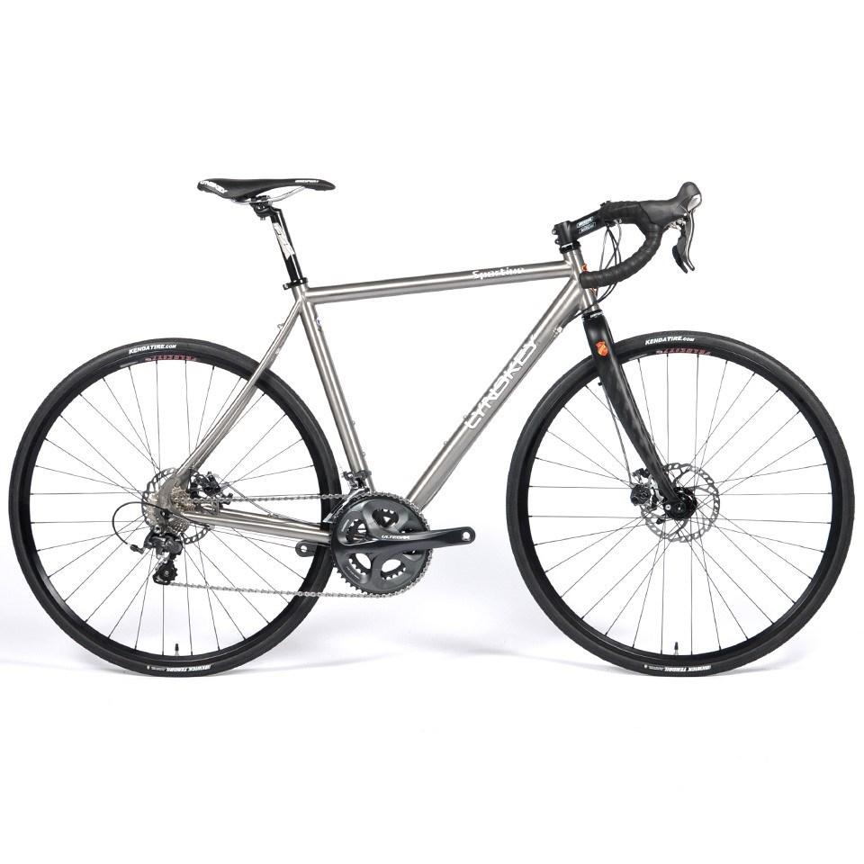 lynskey sportive disc ultegra titanium road audax bike