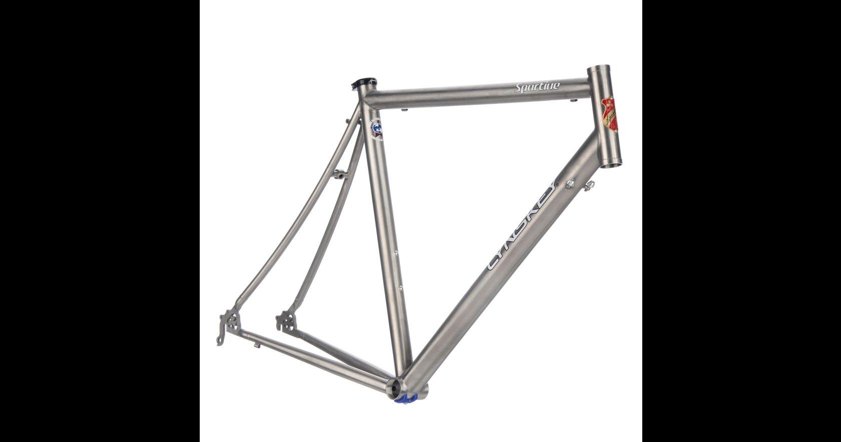 Lynskey Sportive 2014 Titanium Audax Frame Industrial Mill