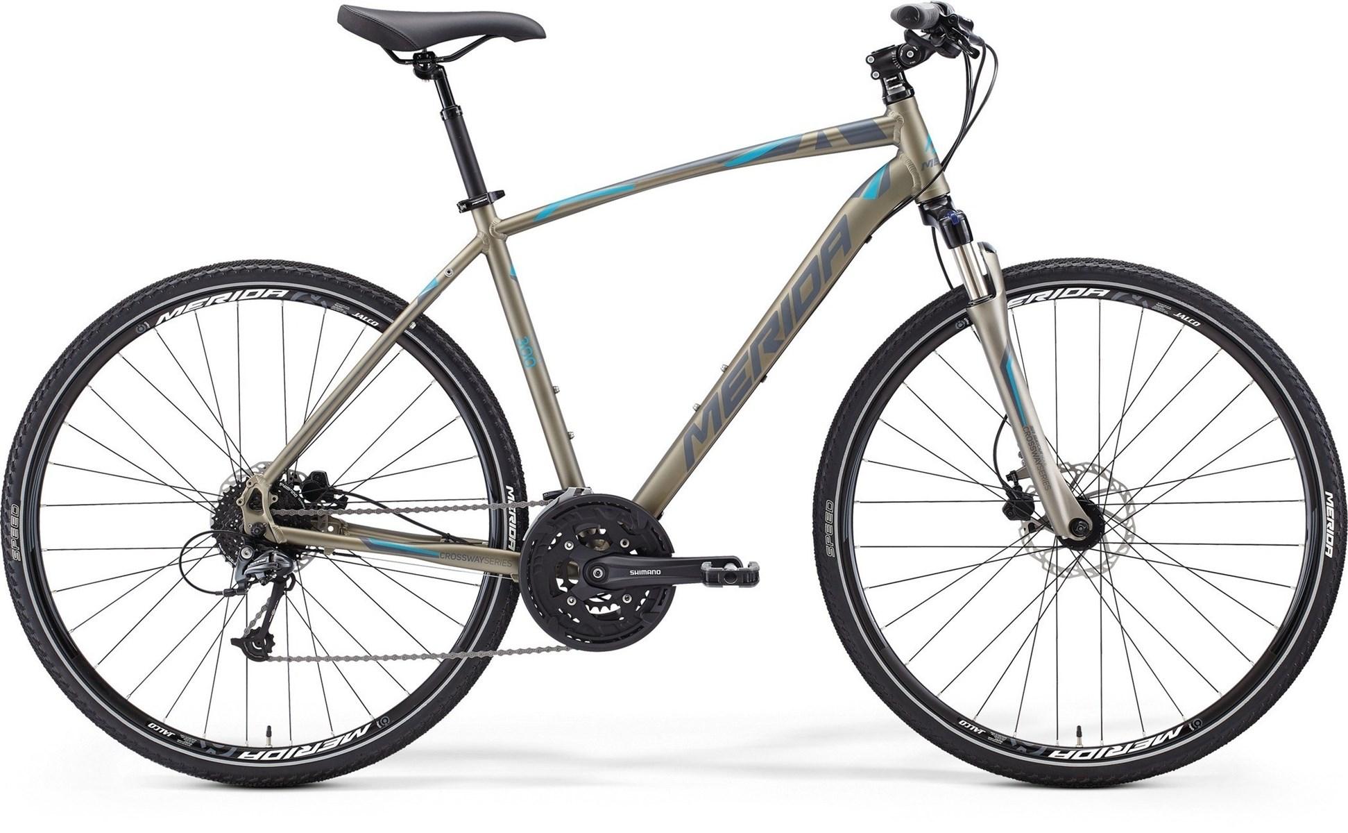 Merida Crossway 300 Mens Hybrid Bike