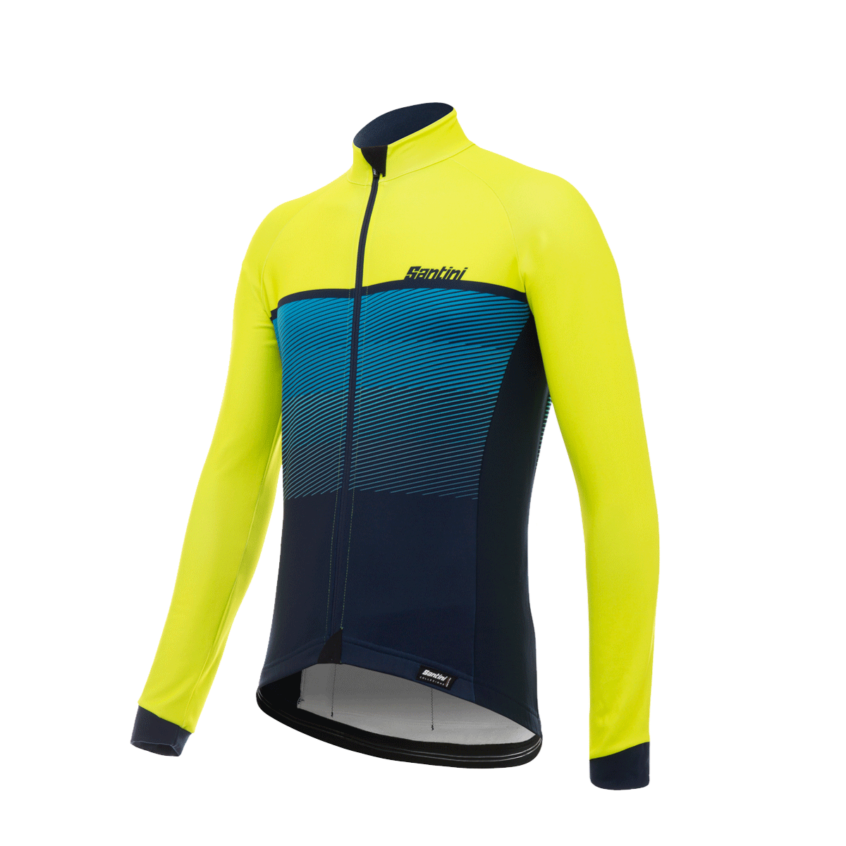 Santini Epic Winter Long Sleeve Jersey 2017 Yellow - Buy Online ... 3e7110308