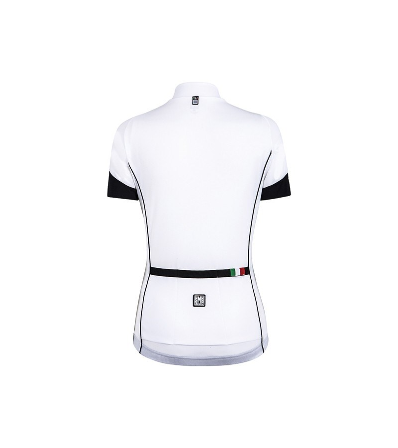 1a0259ce649e0 Santini Ora Womens Short Sleeve Jersey White - Buy Online