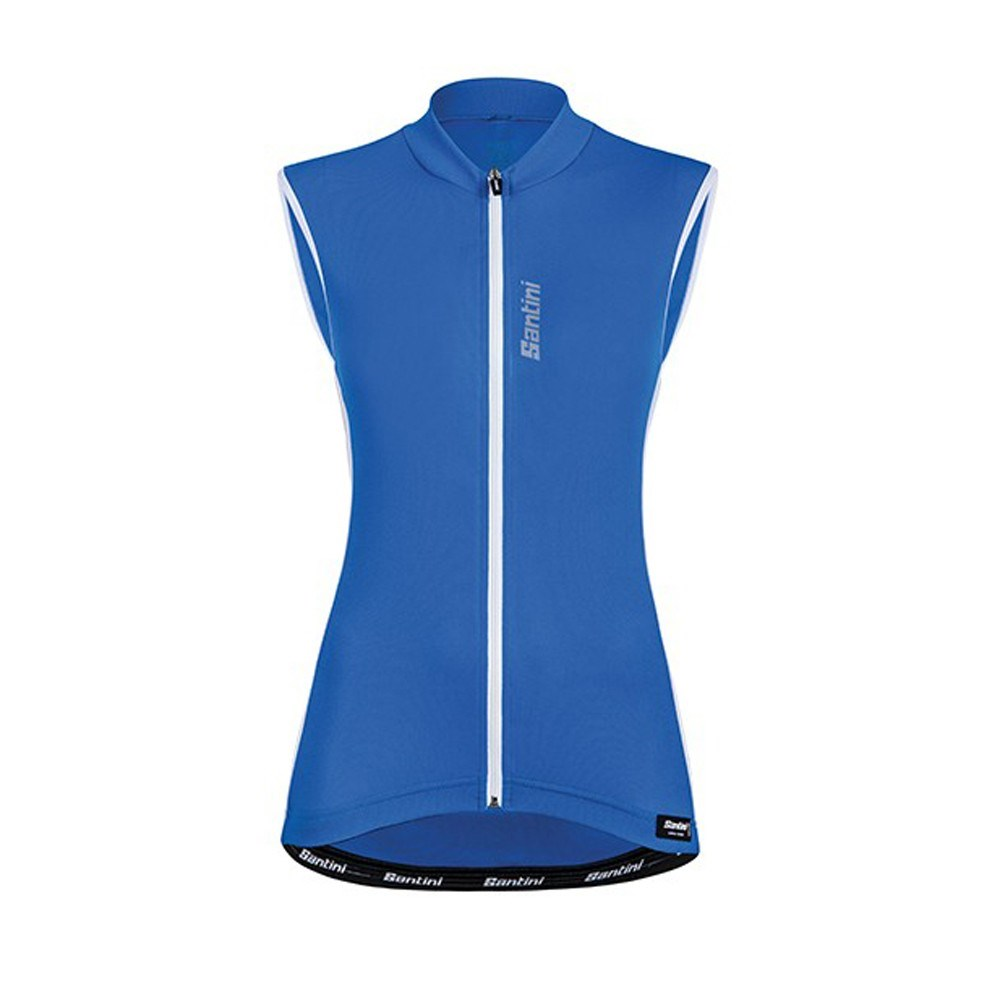 15017e485a8ec Santini Ora Womens Sleeveless Jersey  Gilet Turquoise - Buy Online ...