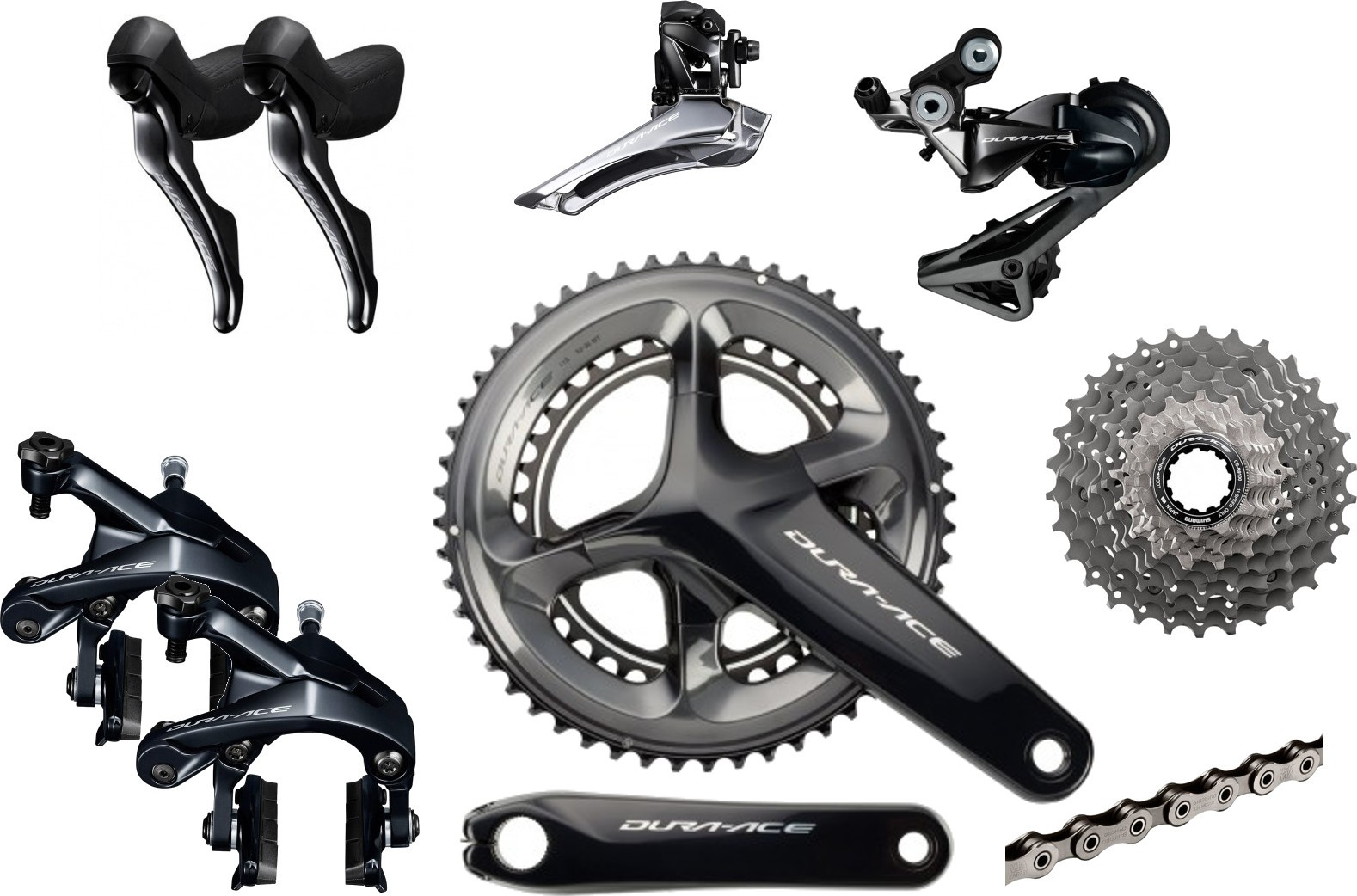Shimano Dura-Ace R1900 Road Groupset