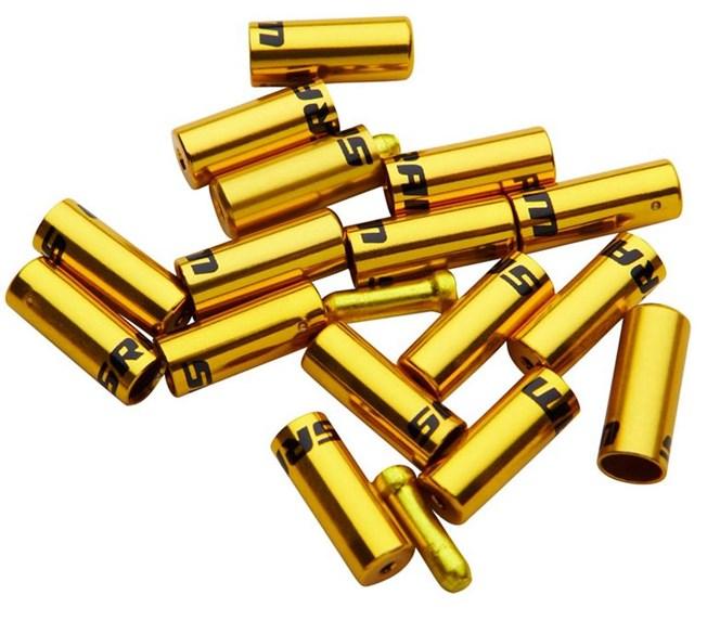 SRAM Ferrule Kit, Aluminum Gold