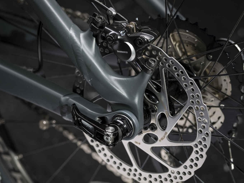 4965ccfbdd9 Trek Powerfly FS 5 2018 Matte Solid Charcoal/Trek Black Electric Bike. 1 ...