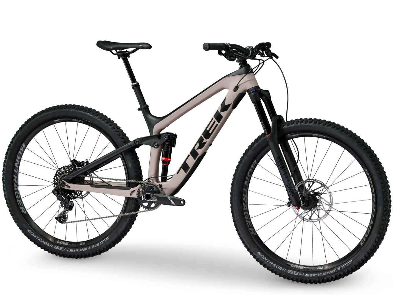 8b337233f96 Trek Slash 9.7 29 2018 Matte Trek Black/Sandstorm Mountain Bike. 1 ...