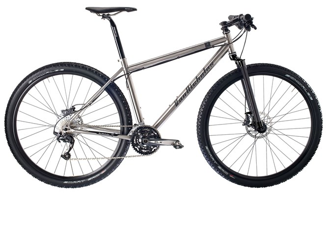 Van Nicholas Redwood 29er Singlespeed Titanium Mountain Bike 2013