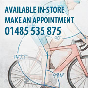 Professional Bike Fitting Service In-Store