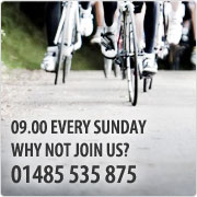 Fatbirds Ride Out. Every Sunday. 09.00